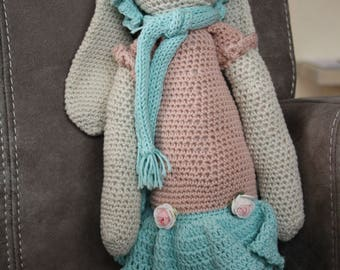 Crochet Cuddly Bunny