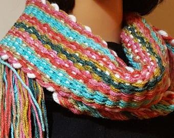 Woven Scarf - Multicolour