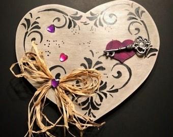 Heart shaped Door hanger
