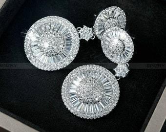 Wedding Earrings Bridal Earrings CZ Earrings Bridesmaids Earrings Fashion Earrings Jewelry Chandelier Earrings