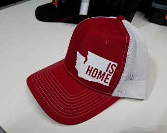 Personalized Baseball Hat With Heat Press Vinyl Front And Back