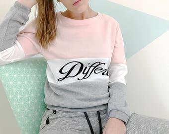 Pullover soft tri-color light Daisy