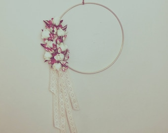 Modern Floral Wall Hanging