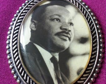 Martin Luther King Pendant Necklace