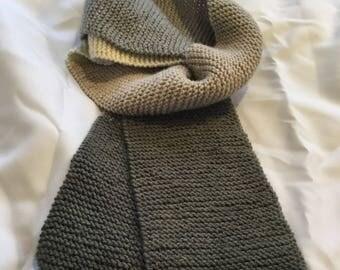 Earth tone Women's Knit scarf