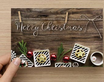 Two-Sided Christmas Card