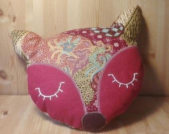 Red Fox pillow