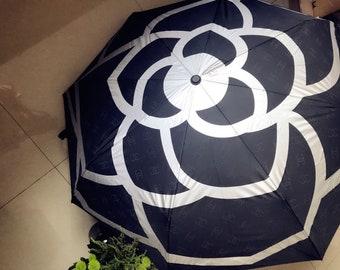 "Chanel Umbrella ""INSPIRED"" Camilla Flower"