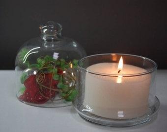 BEAUTIFUL GLASS CANDLEHOLDER | Beautiful Glass Candle Holder