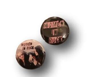 SERVICE Women in Rock Button