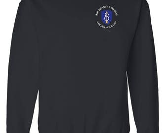 8th Infantry Division Embroidered Sweatshirt-4080