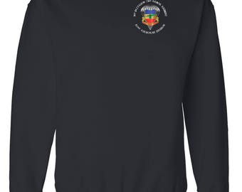 3/73rd Armor (Airborne) Embroidered Sweatshirt-3458