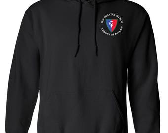 38th Infantry Division Embroidered Hooded Sweatshirt-7429