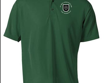 5th Special Forces Group Embroidered Moisture Wick Polo Shirt -3692