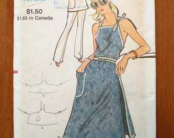 Vintage 1970s sewing pattern: Vogue 8284 (Size Medium)