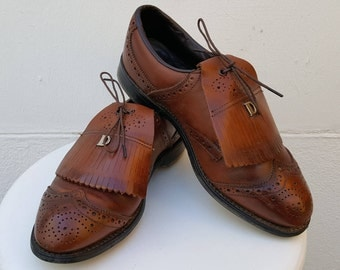 Vintage DEXTER GOLF shoes size Us 8 Uk 7.5 Eu 41,5 Made in USA