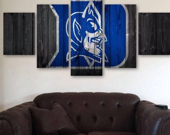 Duke Blue Devils 5pc Wall Canvas
