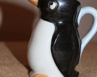 Tiny Penguin Pitcher, made in Japan