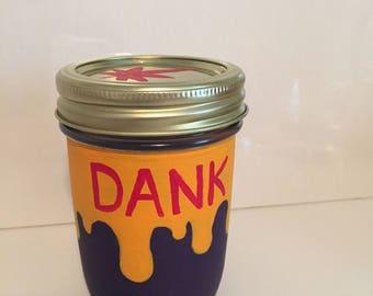 Customizable color stash jar