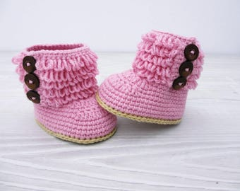 Crochet baby booties Baby shoes Baby boots Baby girl costume, Neutral baby gift, Crochet baby boots, Infant baby shoes, Unique baby gift