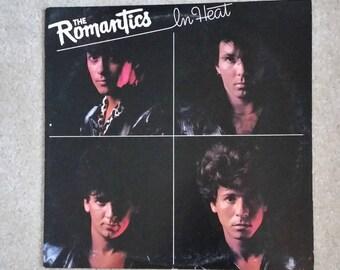 The Romantics - In Heat LP (ORIGINAL '83 vinyl/GREAT condition)