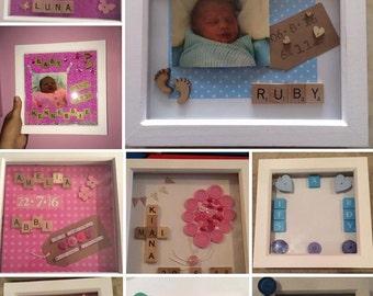 Personalised Handmade Bespoke Frames