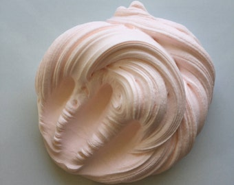8oz. Of Cotton candy cream clay slime