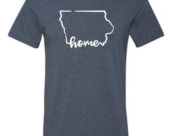 Iowa Home Tshirt
