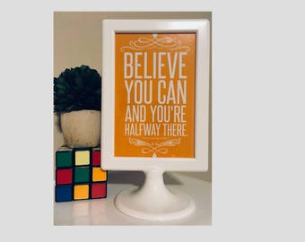 Framed Motivational Quotes (4x6)