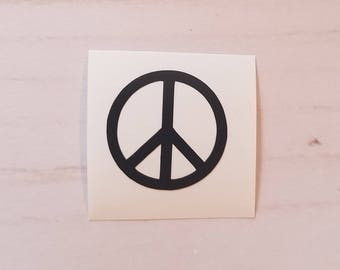 Vinyl Decal- Peace Sign