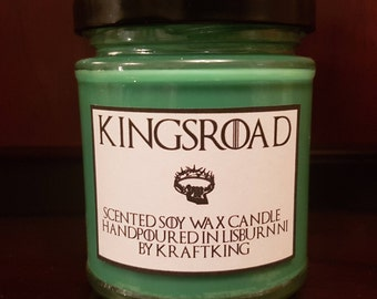 Kings Road - Scented Soy Wax Candle 8oz Container