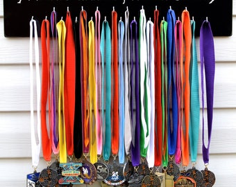 FAST SHIPPING Free Customizing Available   Running Medal Display Rack S4823 Always Earned Dancer