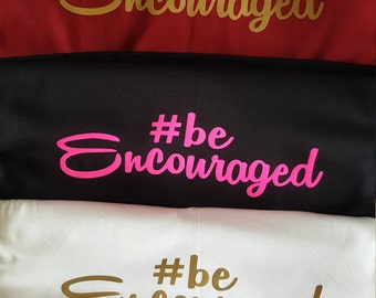 NEW ITEM**Introducing #beencouraged apparel V-neck ladies Tees