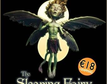 The Sleeping Fairy 1/1 scale (6cm approx) plastic resin figurine