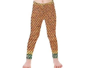 Mermaid Leggings- Girls (5 colors)