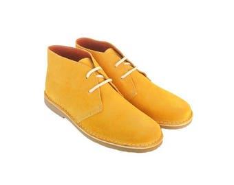 Desert OCHRE suede boots