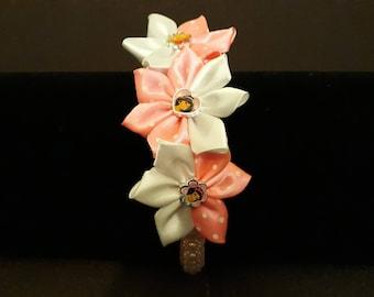 Disney and Characters Kanzashi Flower Headband