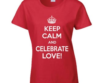Ladies Valentines T-shirt
