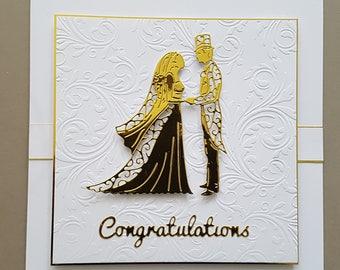 Luxury Wedding Card