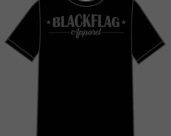 BlackFlagApparel Classic Banner Graphic Tee