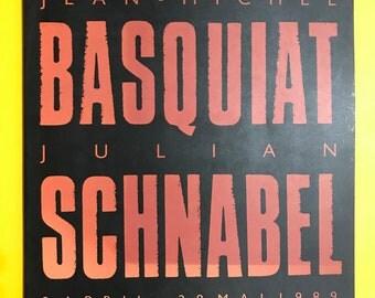 Jean-Michel Basquiat Julian Schnabel 1989 exhibition catalogue