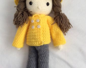 Crochet doll and outfits