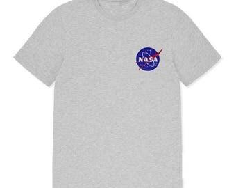 NASA Embroidery Logo T-shirt
