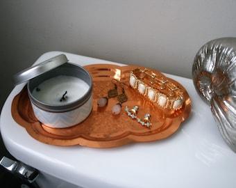 Vintage Decorative Copper Tray