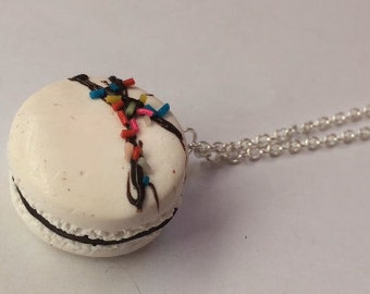 Colorful macaroon necklace