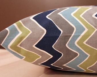 Dog Bed Cover, Chevron Cover, Designer Cover, Blue Cover, Dog Bed Duvet, Pet Bed Cover, Cat Bed Cover