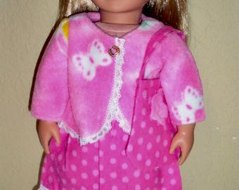 Fleece Jacket & Skirt---doll jacket---doll dress---Girl doll clothes