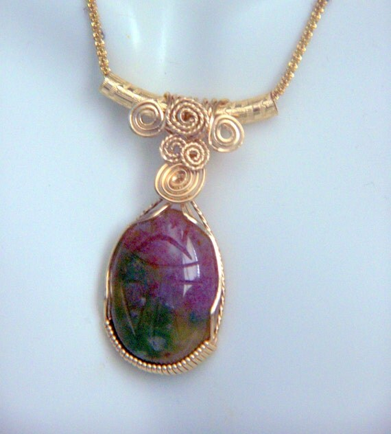 Egyptian pendants kerryhowarddesigns multi color agate egyptian scarab pendant genuine carved gemstone wire wrap 14k gold filled setting aloadofball Choice Image