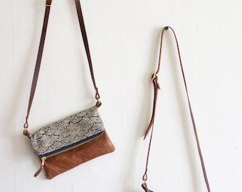 Small Crossbody Purse, Small Boho Bag,  Gift Under 50, Boho Gift for Her, Small Day Bag, Boho Organizer, Ethnic Boho Purse