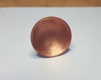 Copper disk ring